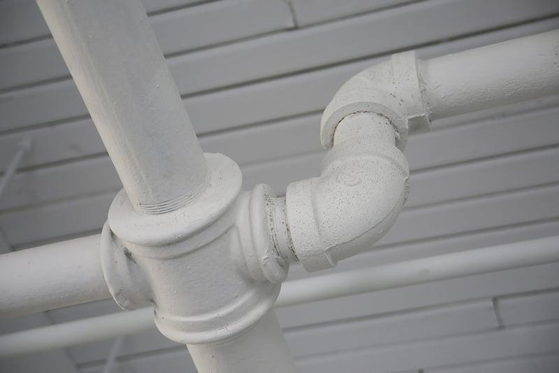 white-plumbing-pipes