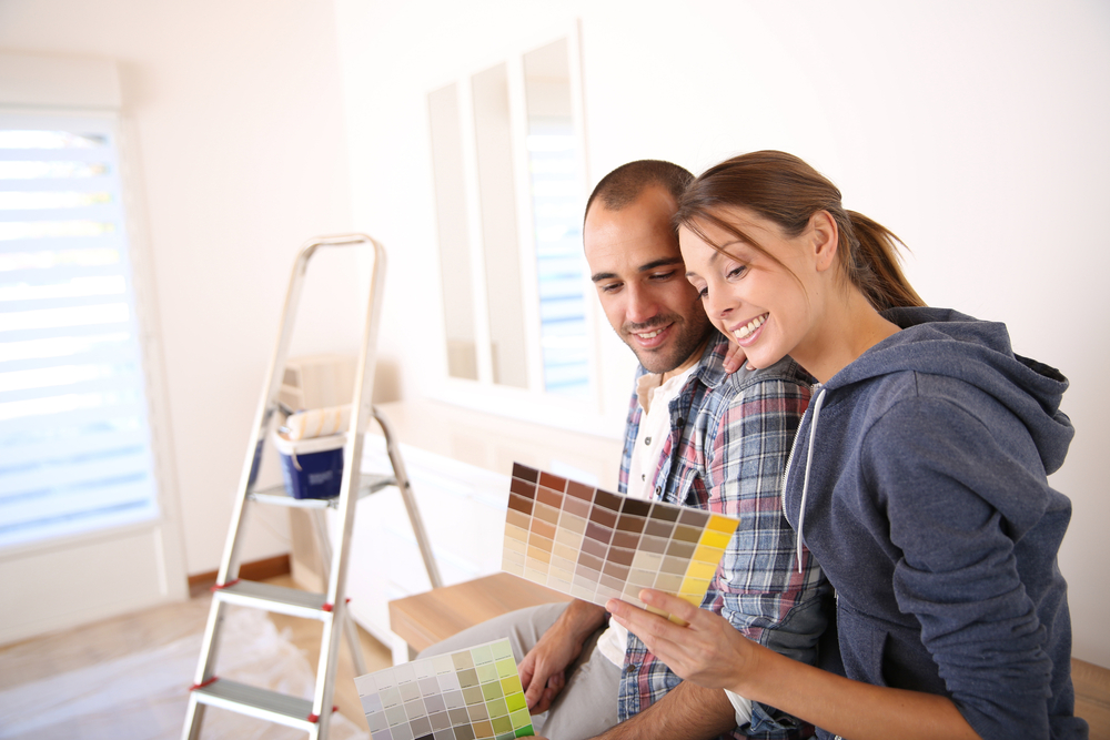 Couple-Painting-Home